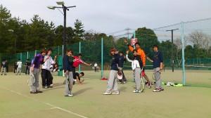 関西大学硬式テニス同好会のみなさん
